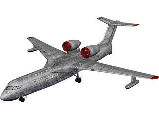 Beriev Be-200 Altair 3D Model