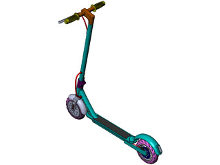 Electric Scooter 3D Model