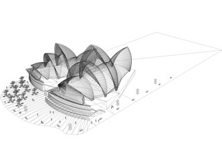 Syndey Opera House 3D Model