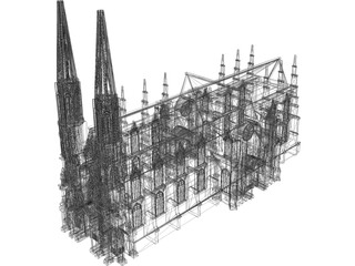 Cathedral Saint Patricks  3D Model