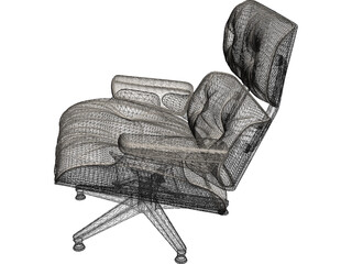 Leather Seat 3D Model