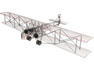 Farman F.60 Goliath 3D Model