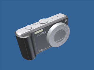 Panasonic Lumix TZ5 3D Model