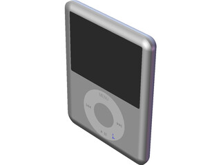 iPod Nano 2nd Gen 3D Model