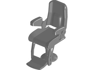 Helm Chair 3D Model