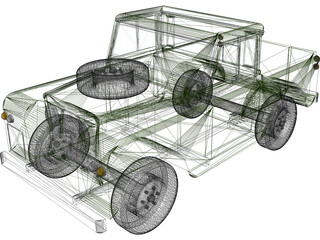 Land Rover 3D Model