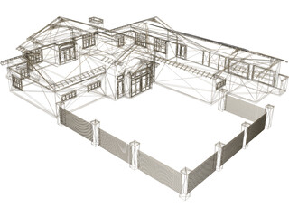 Clubhouse Crafts Style 3D Model