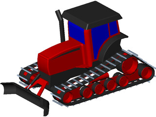 Gilbert Snowgroomer 3D Model