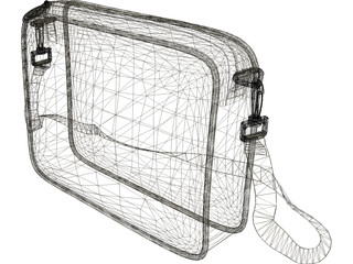 Shoulder Bag 3D Model