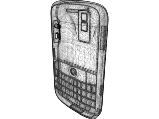 Blackberry 3D Model