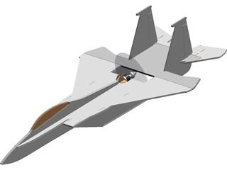 F-15 Eagle RC Foamy 3D Model