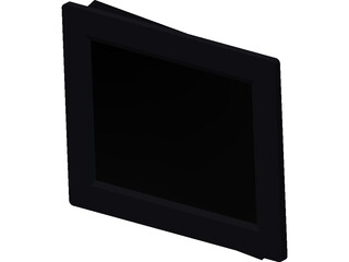 Digital Photo Frame 8 Inch 3D Model