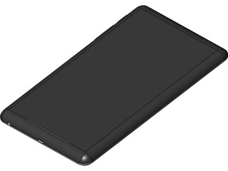 Galaxy Nexus 7 Tablet 3D Model