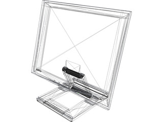 Samsung SyncMaster 172T Display 3D Model