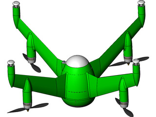 Quadcopter 3D Model
