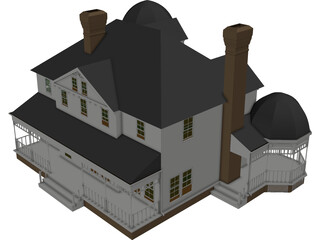 House Victorian 3D Model