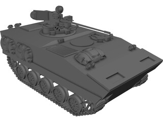AMX-10P French IVF 3D Model