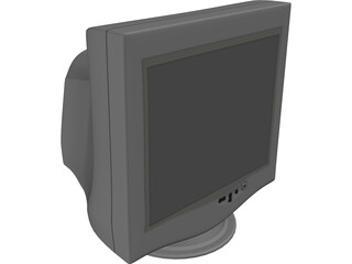 Philips Monitor 3D Model
