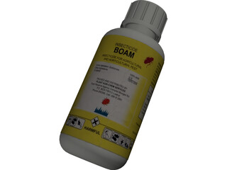 Boam Bottle (with Lid and Label) 3D Model