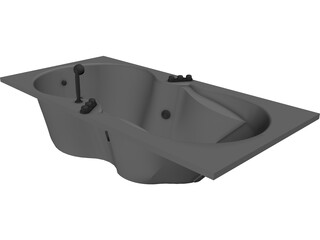 Bathtub Apollonia 3D Model