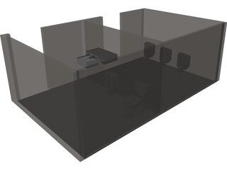 Accessible Space Toilets 3D Model