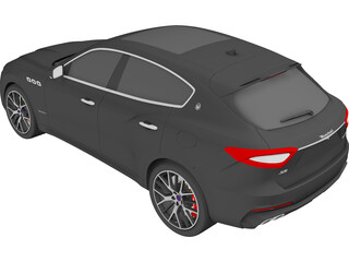 Maserati Levante S Q4 GranSport (2019) 3D Model