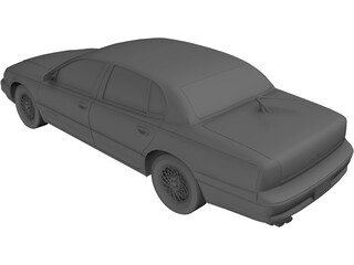 Chrysler New Yorker LHS (1995) 3D Model