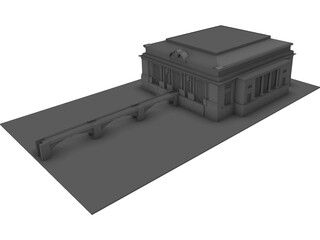 Grand Central Terminal 3D Model