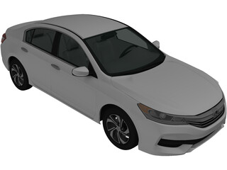 Honda Accord 2016 3D Model