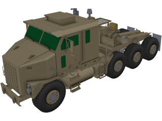 M1070 Motrice Oshkosh 3D Model