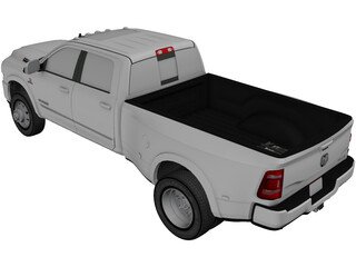Dodge RAM 3500HD Limited (2020) 3D Model