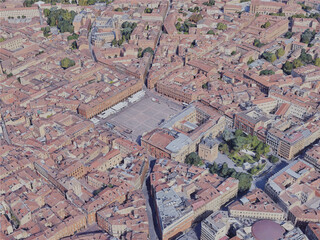 Toulouse City, France (2019) 3D Model