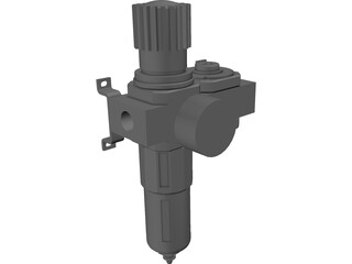 Air Regulator D-series 3D Model