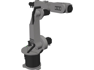 Kuka Industry Robot KR15/2 3D Model