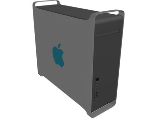 Apple Power Mac G5 3D Model