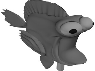 Nemo Cartoon 3D Model