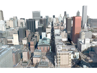 Chicago City 3D Model