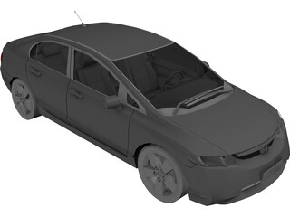 Honda Civic (2007) 3D Model