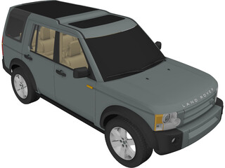 Land Rover Discovery 3 3D Model