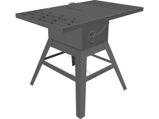Table Saw Craftsman 3D Model