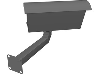 Fake Security Camera 3D Model