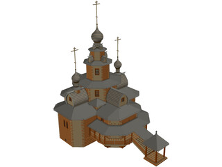 Church Tranfiguration 3D Model