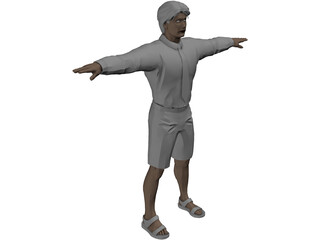 Man [+Outfits and Hairstyles] 3D Model