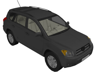 Toyota RAV4 (2008) 3D Model