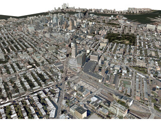 New York City Brooklyn 3D Model