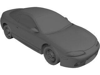 Mitsubishi Eclipse (1999) 3D Model