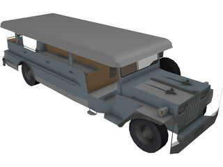 Jeep Catafalque 3D Model