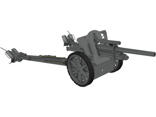 Light Field Howitzer 3D Model