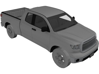 Toyota Tundra 3D Model
