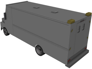 Freightliner MT-55 3D Model